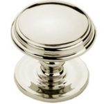 Centre Door Knob 75 mm – Polished Chrome Plate