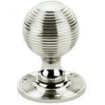 Reeded Ball Knobs 55 mm – Imitation Bronze