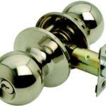 Bala Entrance Knobset – Polished Brass Lacquered