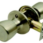 Guardian Passage Knobset – Polished Brass Lacquered