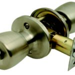 Guardian Privacy Knobset – Polished Brass Lacquered