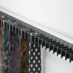 Fixed Tie Rack 432 mm – Standard finish