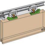 Marathon S3 Door Slide 750-900mm Maximum Door Weight 90kg – Standard finish