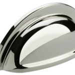Cup Drawer Pull – Antique Brass Unlacquered