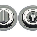 Round Bathroom Privacy Turn and Release 50 mm – Polished Chrome Plate