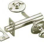 Privacy Bolt Set 60 mm – Satin Nickel Plate