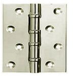 Ball Race Hinge 101 x 76 mm Half Hour Fire Rated – Solid Drawn Brass
