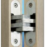 Soss 203 Hinge 45 x 13 – Solid Drawn Brass