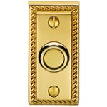 Bell Push – Polished Brass Lacquered
