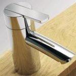 Bath Mixer V140 – Satin Stainless Finish
