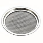 Circular Vent with Mesh 85 mm – Satin Stainless Steel