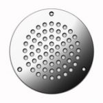 Circular Vent 102 mm – Polished Stainless Steel