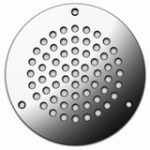 Circular Vent 152 mm – Polished Stainless Steel