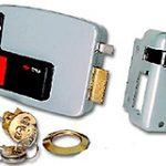Electric Rim Lock R/H – Grey Enamel