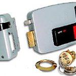 Electric Rim Lock L/H – Grey Enamel