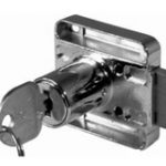 Cylinder Lock Left Hand – Standard finish