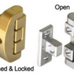 Casement Window Lock – Rustic Solid Bronze