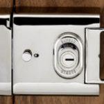 L2000 Rim Deadbolt 2 Keys – Satin Brass Unlacquered