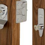 L2000 Deadbolt and M2002 Deadlock Keyed Alike 4 Keys – Satin Brass Unlacquered
