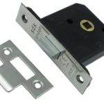 SDS Mortice Box Latch 63 mm Light Spring – Satin Stainless Steel