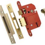 Sashlock 5 Lever 64 mm BS 3621 – Satin Chrome Plate