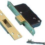 Deadlock 5 Lever 51 mm Insurance Rated – Satin Chrome Plate