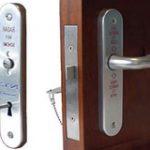 Phlexicare RADAR Lockset Right hand – Gold Anodised
