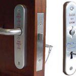 Phlexicare RADAR Lockset Left hand – Polished Anodised Aluminium