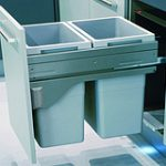 Cargo Waste Bin 70 Ltr for 450 mm Cabinet – Standard finish