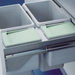 Cargo Waste Bin 87 Ltr for 600 mm Cabinet – Standard finish