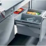 Euro Dual Waste Bin 60 ltr for 600 mm Wide Cabinet – Standard finish