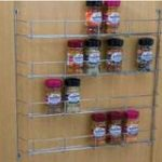 Spice and Packet Rack Four Tier – Standard finish