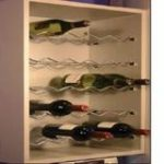 Wine Rack Shelf for 600 mm Unit – Standard finish