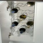 Wine Rack for 25 Bottles to Suit 500 mm Cabinet – Standard finish