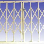 Collapsible Gates c/w Two Locks 1800 x 2000 mm – Standard finish