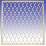 Security Small Diamond Mesh Grille 1400 x 1100 mm – Standard finish